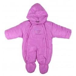 Combinaison - bébé fille - violet