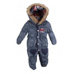 Lee cooper - combinaison intérieur polaire - bébé fille - bleu