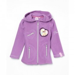 Princesses Disney - Sweat polaire fille - Violet